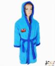 Verdák pihe puha wellsoft gyermek köntös kék