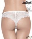 Infiore 3102 brasil női alsó fehér