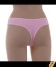Lemila rózsaszín pamut női tanga cicás