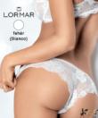 Lormar brazil bugyi  fehér csupa csipke Prestige Brasiliana