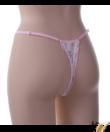 Spagetti pántos fehér csipkés szexi bugyi Flower