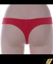 Lemila piros csipkés női bugyi