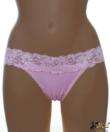 Lagoon világos rózsaszín csipke pántos női tanga