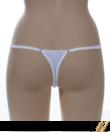 Barones unikornis fehér állítható pántos női tanga