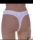 Fehér csipkés női tanga