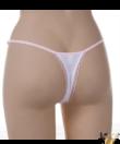 Kreona fehér-rózsaszín csipkés állítható pántos női bugyi