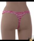 Lemila női tanga pink piton