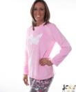 Pillangós női pihe-puha wellsoft pizsama