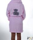 Lagoon rózsaszín macikás pihe puha wellsoft női köntös