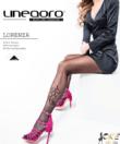 Lineaoro fekete harisnyanadrág Lorenza