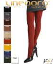 Lineaoro mustársárga akril vastag női harisnya nadrág 150d donnasoft