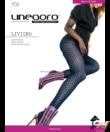 Lineaoro fekete mintás női harisnya nadrág Livigno 70d