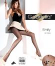 Gabriella  szivecskés fekete harisnya Emily