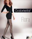 Gabriella virágmintás harisnya Flora