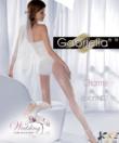 Gabriella fehér mintás harisnya Charme 03