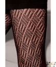 Gatta fekete pamut mintás harisnyanadrág N7