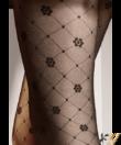Gatta fekete mintás harisnyanadrág 40den Royale02