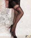Gatta fekete combfix mintás harisnya nadrág 20D Sweety 12