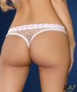 LivCo fehér csipkés tanga Darrelle