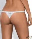 Obsessive fehér szexi csipke tanga Alabastra