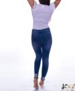 Strasszos női farmer nadrág