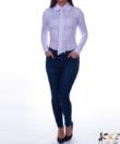 Kikiriki fehér galléros női felső