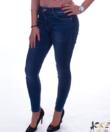 Slim fit strasszos női farmer nadrág
