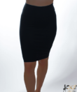 Kikiriki női fekete ceruzaszoknya