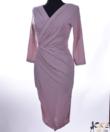 Púder csillogós alkalmi női ruha