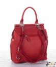 David Jones piros női kézi és divat hátizsák