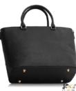 Anna Grace fekete-púder női divatos táska