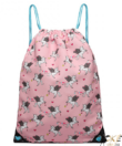 Miss Lulu unikornisos tornazsák pink