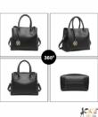 Miss Lulu fekete elegáns női táska