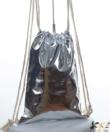 Ezüst city tornazsák, hátizsák 44 cm
