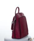Bordó divatos női hátizsák