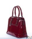 Bordópiros lakk  női táska