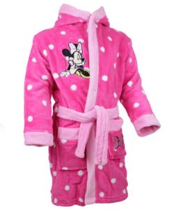 Minnie pihe puha pink wellsoft gyermek köntös