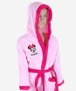 Minnie pihe puha wellsoft gyermek köntös rózsaszín