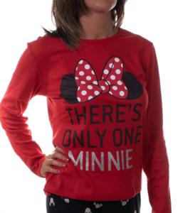 Minnis női pamut pizsama piros