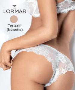 Lormar brazil bugyi testszínű csupa csipke Prestige Brasiliana