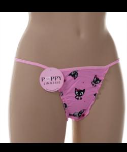 Poppy Suzy tanga cicás állítható pántos