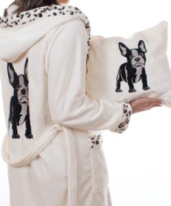Pihe puha wellsoft francia bulldog kutyusos párna