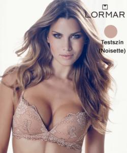 Lormar merevítő nélküli push up melltartó testszínű Desiderio Pizzo B kosár