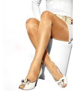 Lineaoro fekete magasfényű női harisnya nadrág 40d Bolero