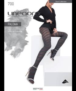 Lineaoro szürke mintás női harisnya nadrág 70d Paloma