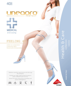Lineaoro kompressziós fekete harisnya nadrág 40d Medical Feeling