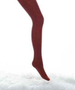 Lineaoro téglavörös akril vastag női harisnyanadrág 150d donnasoft