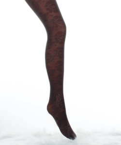 Lineaoro sötétbarna mintás női harisnya nadrág 40d Fantasy