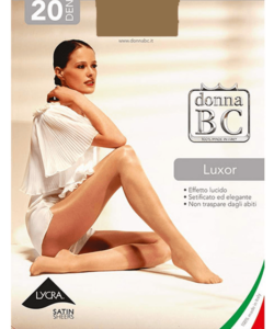 Donna bc magasfényű harisnyanadrág sahara Luxor