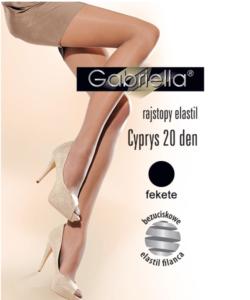 Gabriella fekete krepp harisnya Elastil